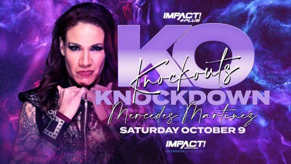 Mercedes Martinez Knockouts Knockdown