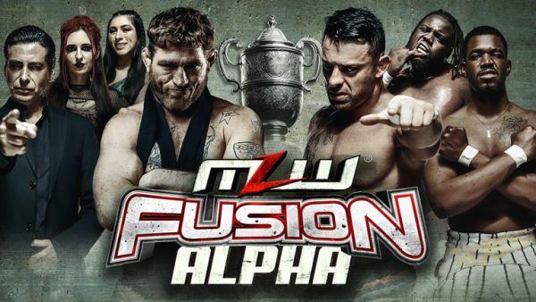 MLW FUSION ALPHA Tom Lawlor vs Davey Richards