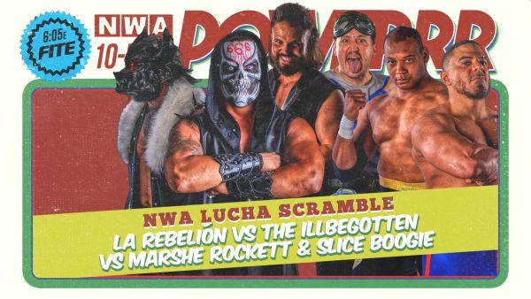 NWA Lucha Scramble Powerrr