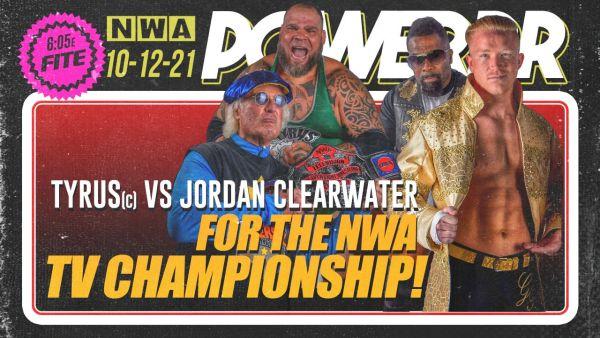 NWA Powerrr World TV Championship Match