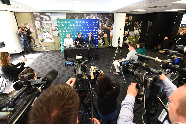 Beauden Barrett on top of the Rugby World