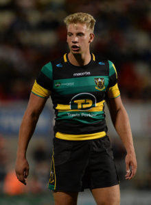 Belfast , Ireland - 26 August 2016; Harry Mallinder of Northampton Saints during the Pre-Season Friendly game between Ulster and Northampton Saints at Kingspan Stadium, in Ravenhill Park Belfast. (Photo By Oliver McVeigh/Sportsfile via Getty Images)
