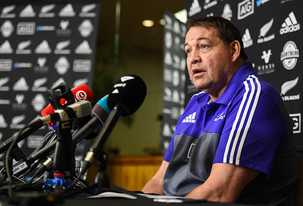 New Zealand Rugby Squad Training & Press Conference
