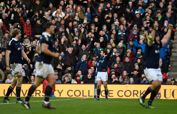 Scotland 6 Nations victory