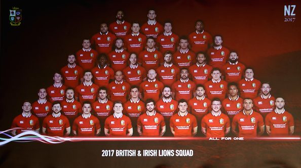 British and Irish Lions Squad