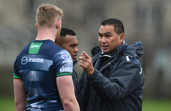 Connacht Rugby Squad Training and Press Conference