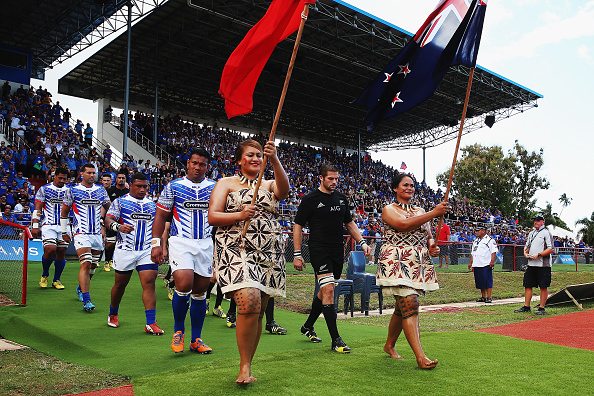 Samoa v New Zealand