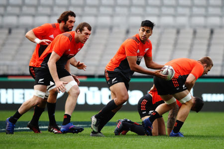 New Zealand All Blacks Captain's Run