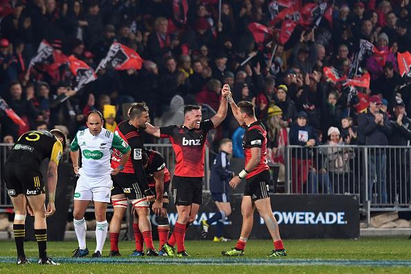 Super Rugby Rd 12 - Crusaders v Hurricanes