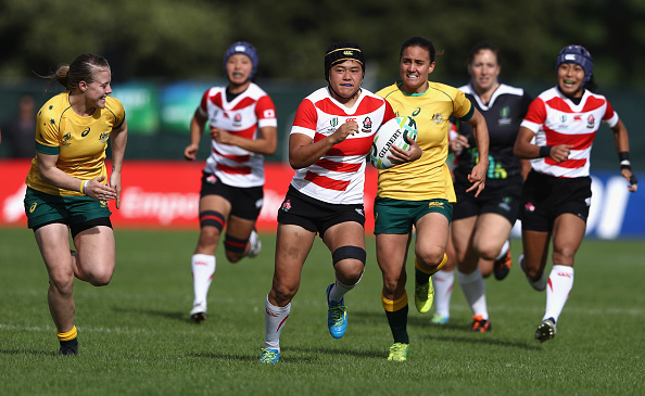 Australia v Japan - Women's Rugby World Cup 2017