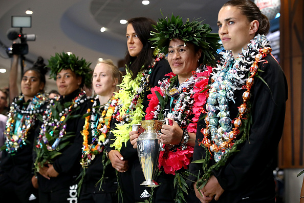 New Zealand Black Ferns Team Arrival