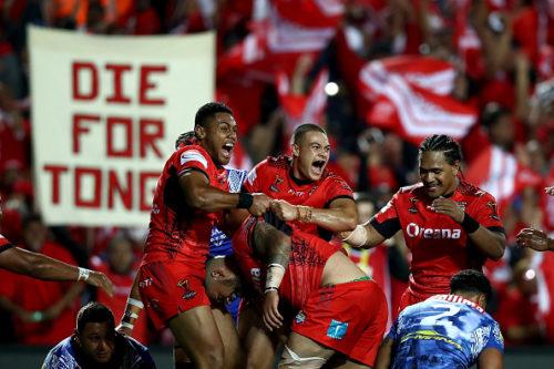 Samoa v Tonga - 2017 Rugby League World Cup