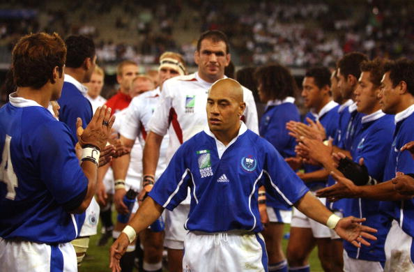 Samoan fullback Tanner Vili