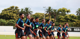 Auckland Blues Pre Season Training