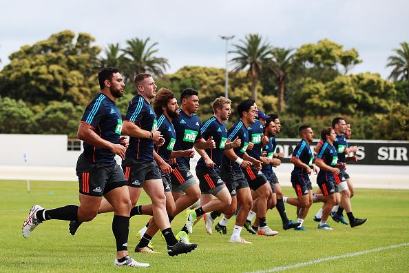 Auckland Blues Pre Season Training