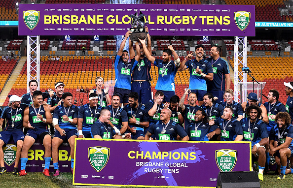 Blues Super Rugby side claim preseason Brisbane Global Rugby Tens prize