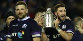 "Good Morning Scotland Rugby ... ""how is the head"""