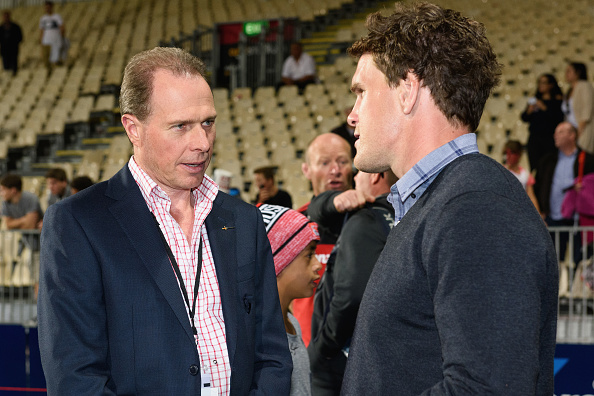 Outgoing Crusaders CEO Hamish Riach