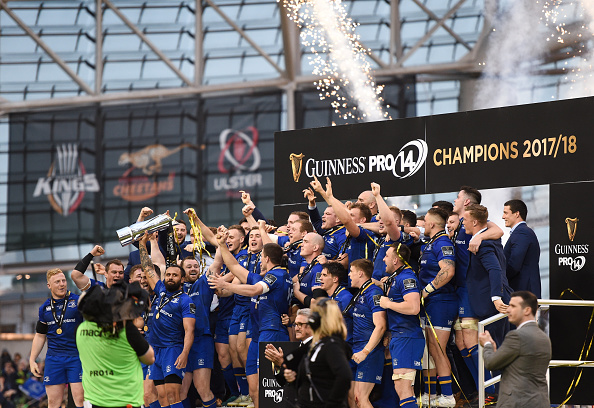 Hail Leinster Rugby! 2017/18 Double: PRO14 and Champions Cup