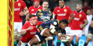 Waisake Naholo re-signs with Highlanders, prepares for June Test Series