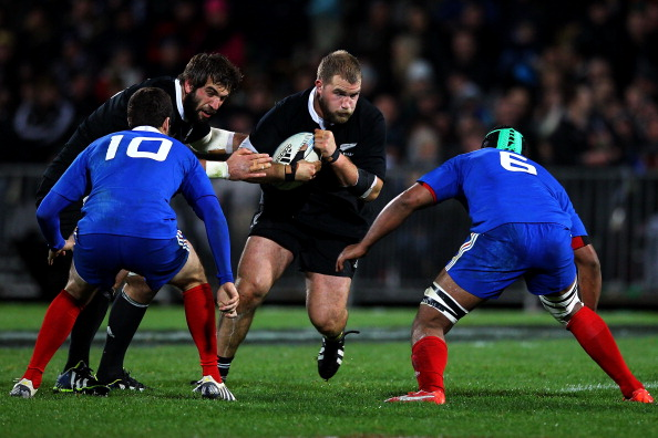 All Blacks bring out the best in French rugby