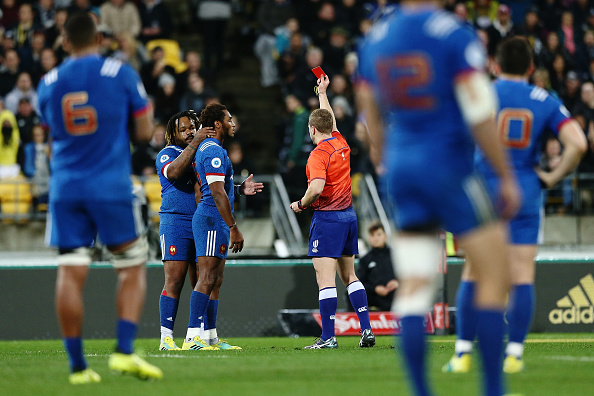 France see Red - World Rugby call it a 'Yellow Card'