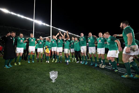 Joe Schmidt's Ireland claim historic series win in Sydney