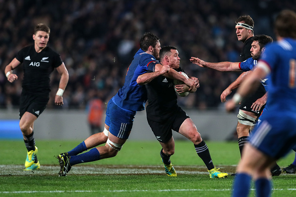 Floodgates open for All Blacks after French yellow card