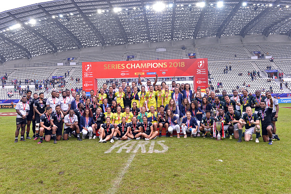 Winners and (nearly winners) of the 2017/18 HSBC Sevens Series