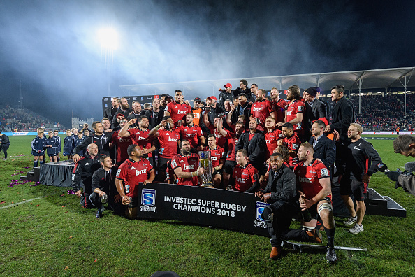Crusaders held in high esteem as 2018 Super Rugby Champions