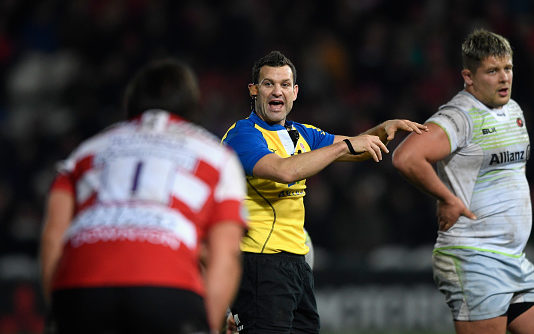 The One Man left standing after every game - the Rugby Referee