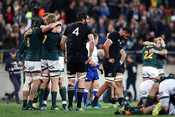 Springboks Surprise All Blacks