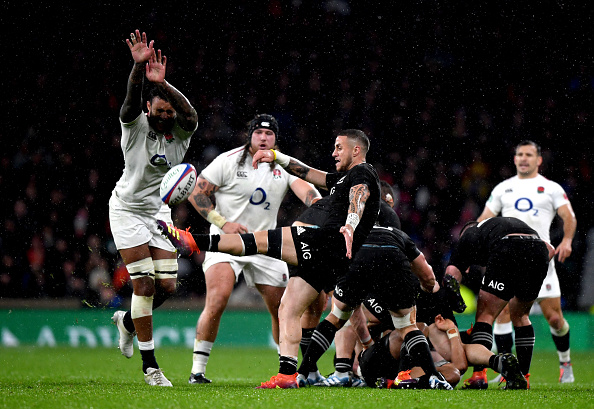 Disallowed try seals All Blacks win at Twickenham Stadium; 15-16