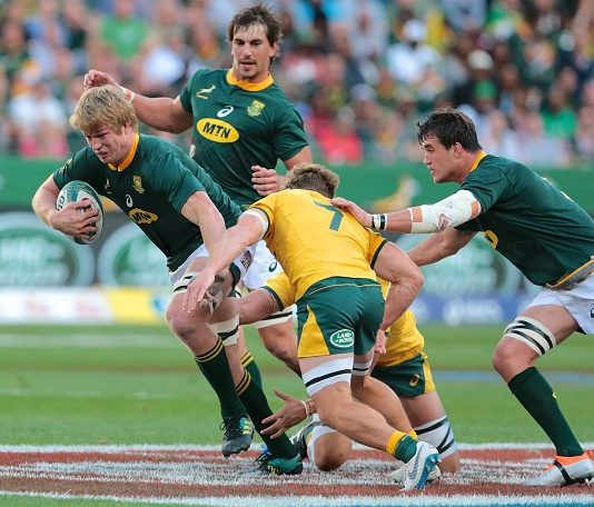 The Rise of the Second row/Flanker