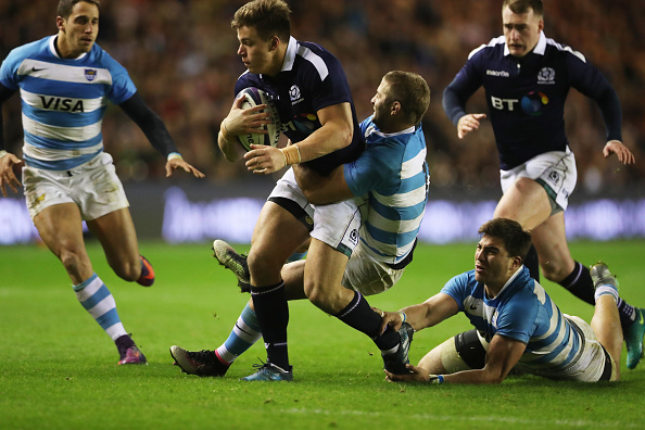 Scotland v Argentina; Battle of the...could be Champions