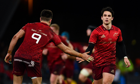 Joey Carbery bags 16 points as Munster topple Leinster