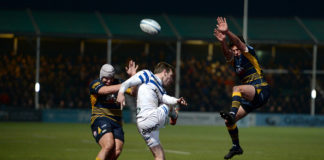 11-man Bath rugby team defeated by Worcester Warriors