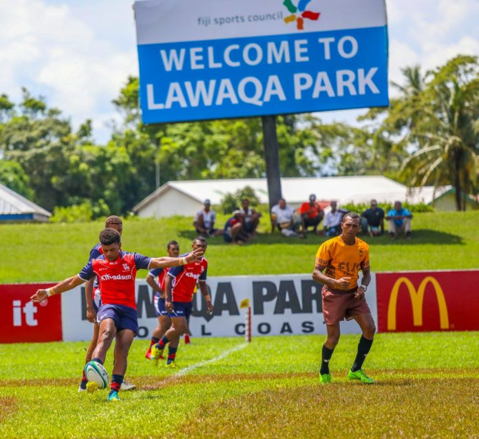 Local and International teams battle for Na Iri 2019 Coral Coast Sevens women's title