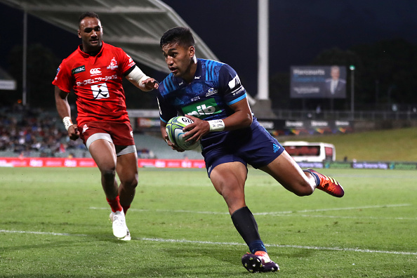 Rieko Ioane shows first-class finishing skills in victory over Sunwolves