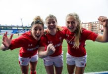 Wales Woman Rugby