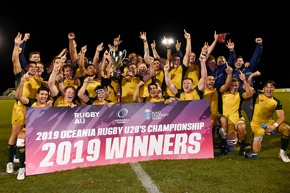 Junior Wallabies win 2019 Oceania Rugby U20s Championship
