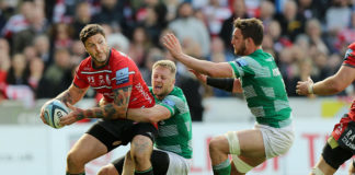 Matt Banahan credits Gloucester character after Newcastle Falcons victory at Kingsholm