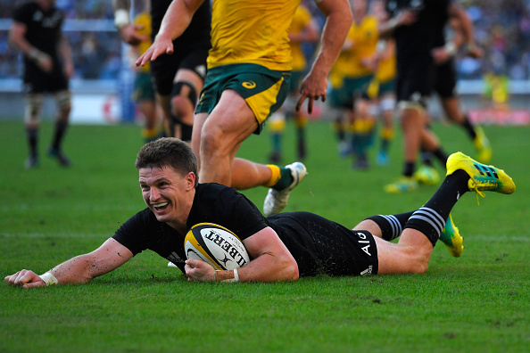 Four more years for Beauden Barrett, now in Blues colours