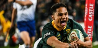 Springbok Rugby Championship win