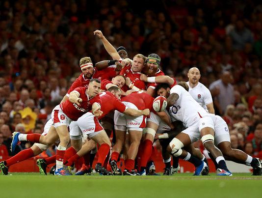 Wales edge England