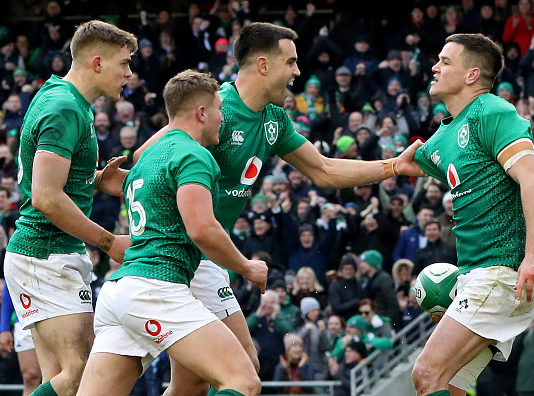 A first for Irish Rugby - leader of the Pack