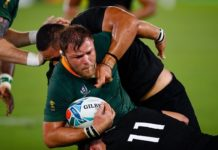 Springboks disappointing result