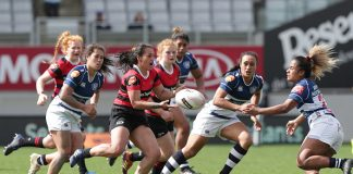 Canterbury v Auckland final in 2019 Farah Palmer Cup
