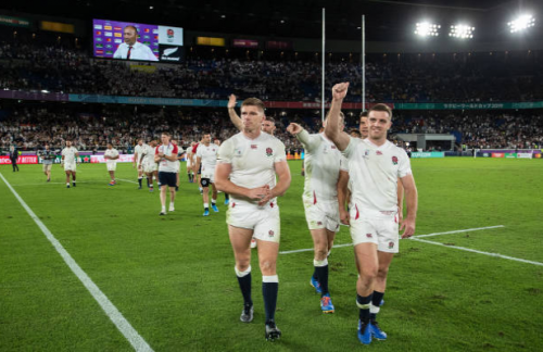 England rugby superiority