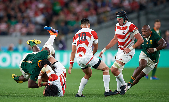 Referees notebook; Red cards and RWC Head Contact directives